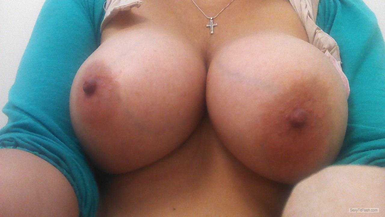 Tit Flash: My Big Tits (Selfie) - Lil Momma from United States